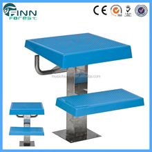 Factory supply Finn Forest stainless steel + ABS pool starting block