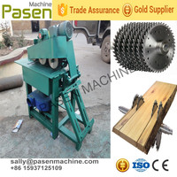 pre processing for wooden chopstick machine multi blade wood sawing machine