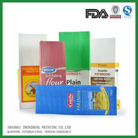 double layers paper bag for flour packaging