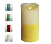 NEW Most Realistic LED Moving Wick Flameless Electronic Wax Candle