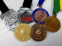 50.8mm 3D design zinc alloy plating custom award medals for wholesale