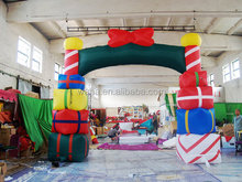 lowes outdoor decoration inflatable christmas arch