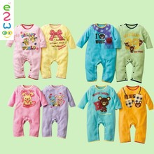 2015 Wholesale Custom Cheap Cartoon Rompers For Newborn Baby Rompers