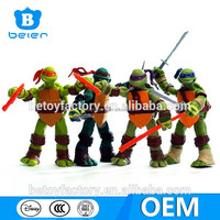 Customize ninja turtles action figure, ninja turtles toys, china toy factory