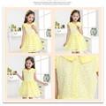 Oem custom diseño China wholesale lujo niños niñas vestidos de algodón bownot diseño vestido de noche para los niños