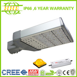 IP66 Best price Cree or Bridgelux chip 90W LED street light with 6years Warranty