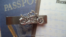 Antique Silver Mortorcycle Bike Tie Bar Clip Tacks Sports Race