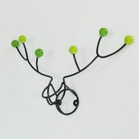 Reindeer design wall mounted clothes hook hanger
