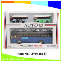 2013 new & hotsale pull back diecast bus