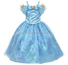 el último de los niños parte cenicienta vestidos para niñas de lujo de moda de vestuario
