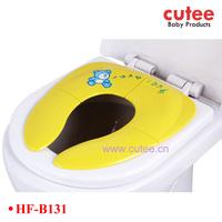 Baby portable folding toilet