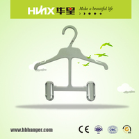 HBL029 Plastic Children Hanger With Bottom Clips