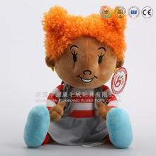 Top quality educational plush boy doll & love doll boy