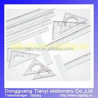 Triangle rule garment ruler school supplies logo ruler