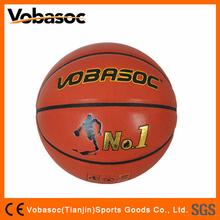 China Supplier Laminated Custom Logo Basketball