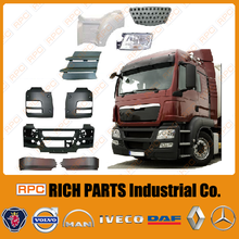 Made in Taiwan Aftermarket parts cover Iveco, Scania, Volvo, Daf, Renault, Mercedes, Man Truck Spare Parts