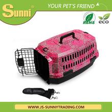 Modern fashion dog transportation cage dog house plastic