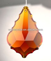 country crystal chandelier French cut pendalogue 1-hole