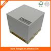 Hot Custom Wooden Pallet Memo Cube, White Paper Memo Cube, 3d Printing In Glass Cube
