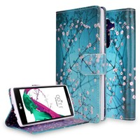 for LG G Stylus (LS770) (G4 Note) Dual-Use Flip PU Leather Fold Wallet Pouch Case for LG G Stylo