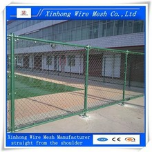 hot dipped galvanized chain link fence for protection
