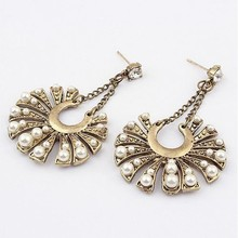 2015 Hot Design Peal Jewelry Fashion Drop Earrings