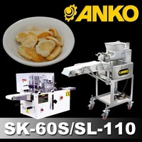 Anko Small Scale Deep Fried Golden Shrimp Chips Machine