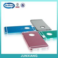 Luxury bumper metal aluminum hard case cover for Iphone