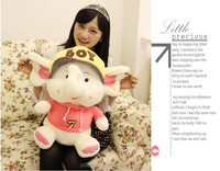 soft stuffed plush elephant with clothes