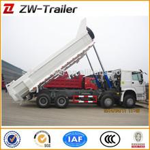 Howo 6x4 chino mina utiliza howo volcado de camiones para la venta del carro de elevación 336hp/371hp hw76 cabina para la venta