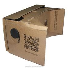 2015 Hot selling Best Quality Google cardboard VR 3D glasses 3d paper glasses