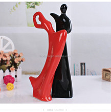 Wholesale fashion home decor personalized ceramic ornaments wedding gift new home furnishings