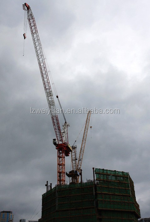 Tower Crane Requirements : Tower crane lifting capacity rental buy