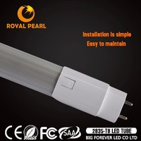 rotatable end caps 20W tube8 on japanese market 120degree china office lighting