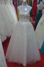 2015 diamond princess bride lace strapless wedding dresses