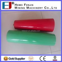 factory idler roller 76mm dia cast iron roller belt conveyor return roller idler