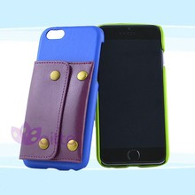 leather case with ID port for iphone 6,Paypal payment