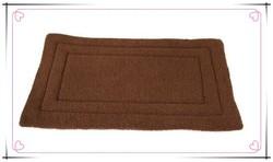"27"" Fleece Dog Crate Mattress Brow Kennel Cage Bedding"