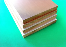 aluminum- wood composite laminated mdf board using water-based paint
