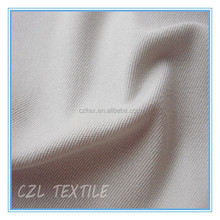 high quality Zhejiang 93% cotton & 7% spandex cotton 2 ways stretch 2/1 twill fabric for garments