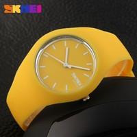 Unisex Silicone Jelly Gel Quartz Analog Sport Wrist Watch Women Girls