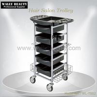 Professional hair salon plastic trolley cart direct manufacturer