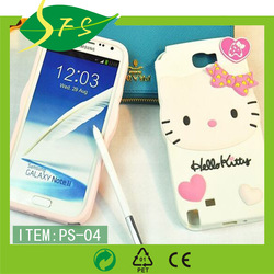 phone case Rabbit hello kitty 3d silicone case for iphone