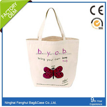fancy rolling small canvas cotton tote bag with zipper