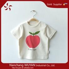 kids short sleeve tees baby fashion shirts Infant Clothing Organic Cotton Baby T shirt