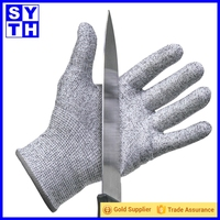 Best Quality Cut Resistant Level 5 Finger Protective Gloves Wholesale
