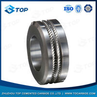 tungsten carbide ring roller with long life time punches