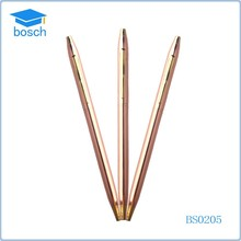 Expensive metal gift ballpoint pen/Golden slim cross pen