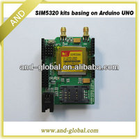 WCDMA shield for Arduino SIM5320 development kits