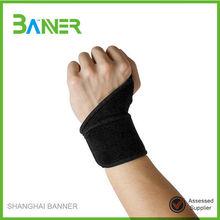 Adjustable Fashionable effective neoprene wrist support with thumb